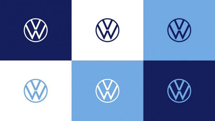 폭스바겐 새 브랜드 디자인 및 로고(사진=폭스바겐코리아)