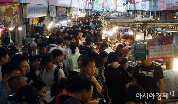 [포토] 추석연휴, 북적이는 전통시장