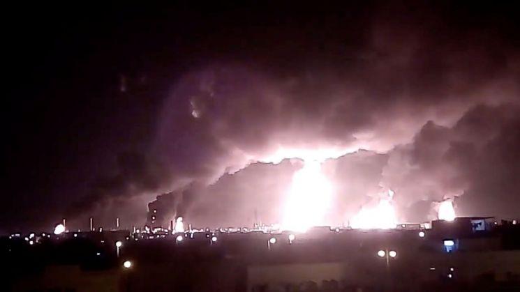 """EU """"사우디 석유 시설 공격, 지역 안보 실질적 위협"""" 우려"""