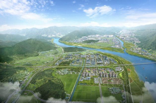 김해대동첨단일반산업단지 조감도(자료: 김해시)