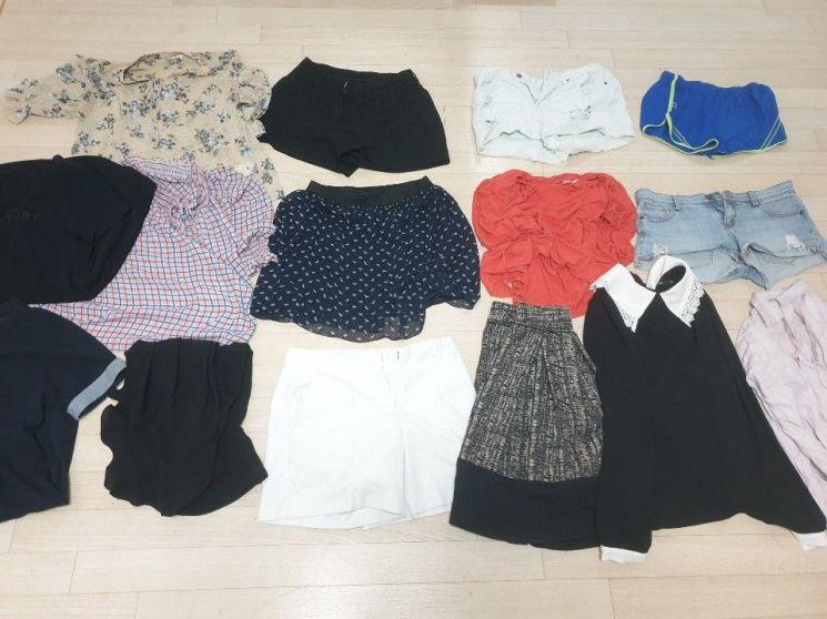H&M 가먼트 콜렉팅 위크 참여를 위해 정리한 옷 15벌