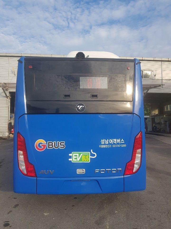 전국 최초 '전기저상 마을버스' 성남서 운행된다