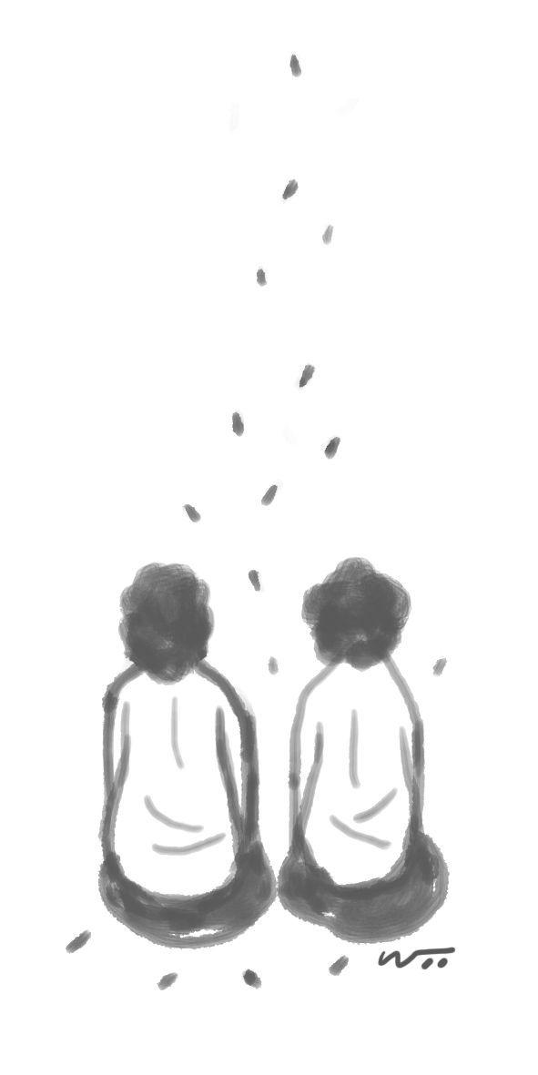 [오후 한 詩] 들깨를 터는 저녁/이윤학