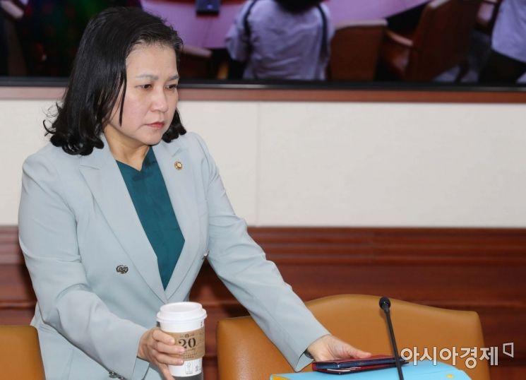 [포토]대외경제장관회의 참석하는 유명희