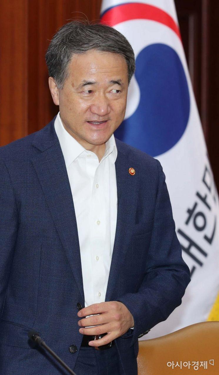 [포토]대외경제장관회의 참석하는 박능후