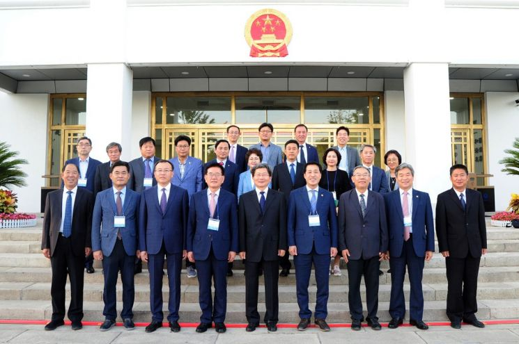 유덕열 동대문구청장 등 방문단 중국 자매도시 북경시 연경구 방문