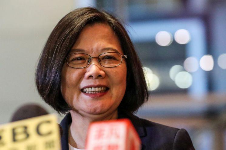 차이잉원(蔡英文) 대만 총통 [이미지출처=연합뉴스]
