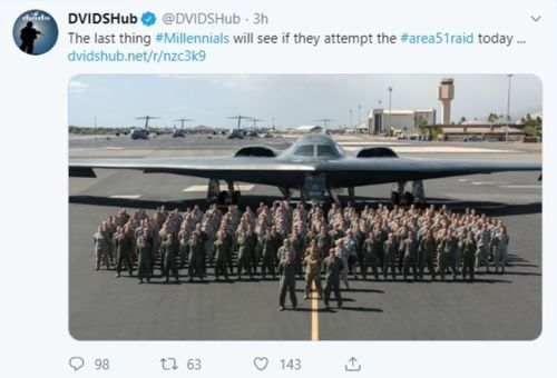 미국 국방영상정보배포시스템(DVIDS) 트위터 / 사진=연합뉴스