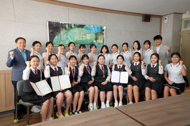 광주여상 '전국상업경진대회' 장관상 등 성적 우수