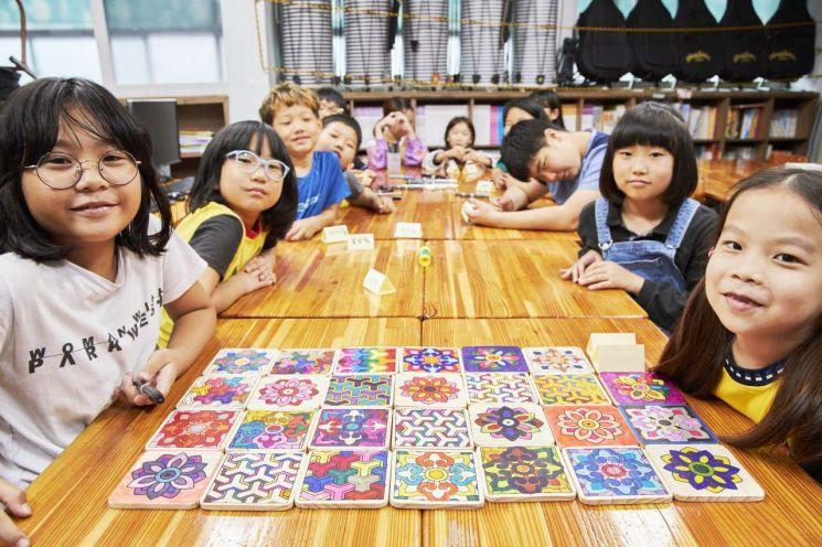 포스코, 지역아동 위한 '1%나눔 아트스쿨' 런칭