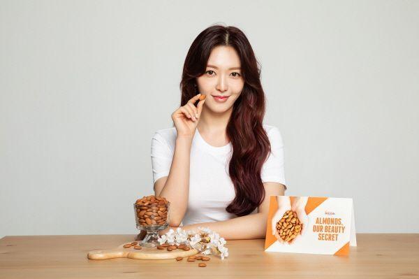 캘리포니아 아몬드 협회, AOA 멤버 찬미와 '아몬드, 아워 뷰티 시크릿(Almonds, Our Beauty Secret)' 캠페인 전개