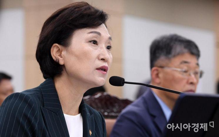 ▲ 김현미 국토교통부 장관 (사진=김현민 기자)