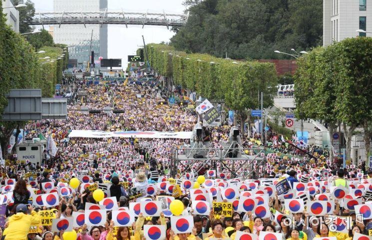 [포토]서초동 검찰개혁 촉구 인파