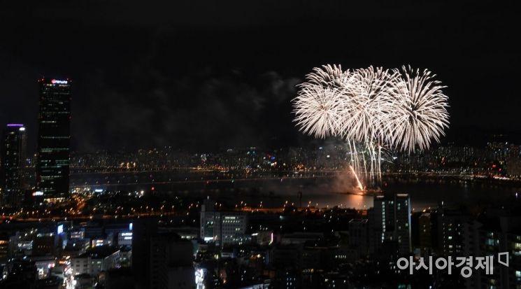 [포토] 화려한 불꽃축제 시작