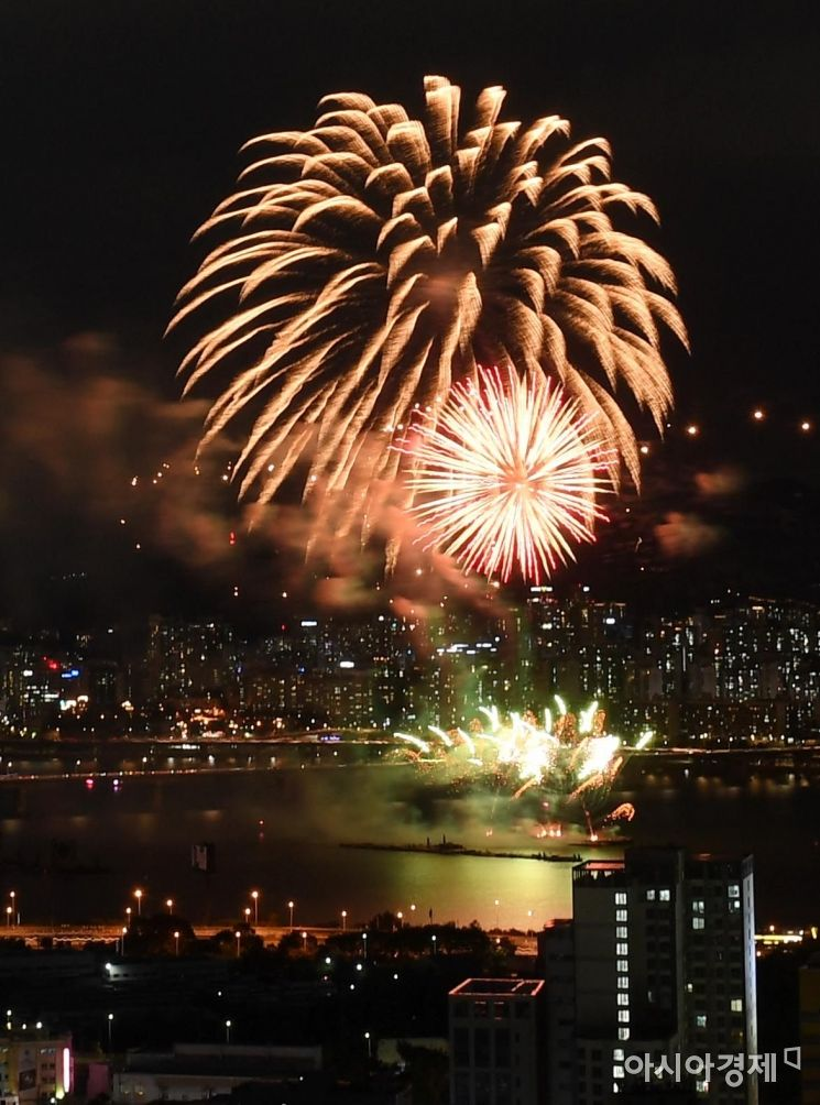 [포토] 2019 여의도 불꽃축제