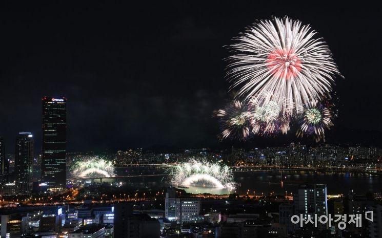 [포토] 화려한 2019 서울세계불꽃축제