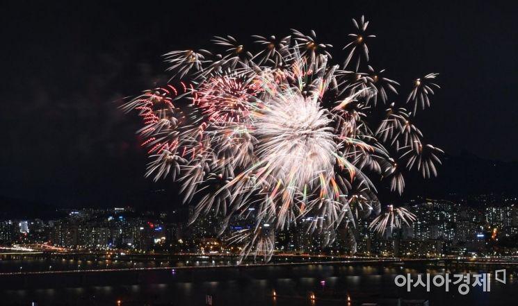 [포토] 다채로운 불꽃축제