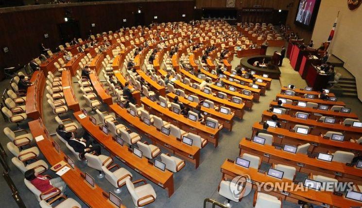 국회 본회의장 [이미지출처=연합뉴스]