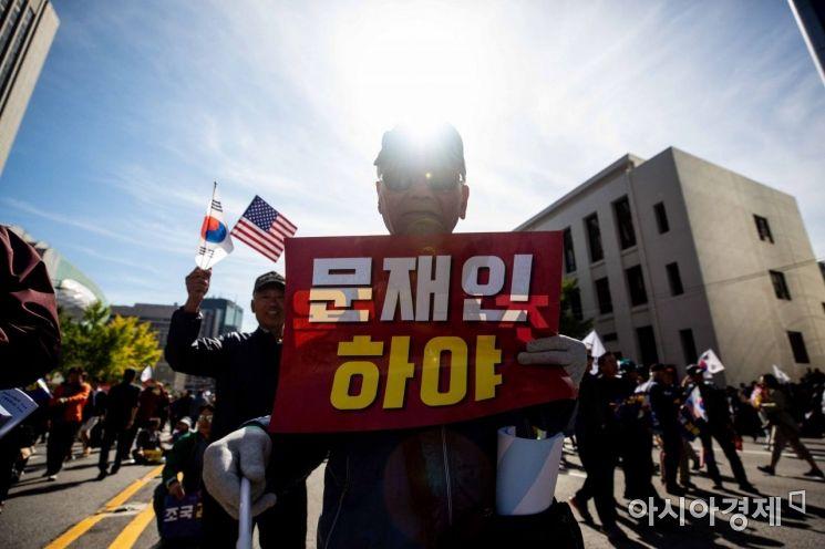 [포토]문재인 정부 규탄