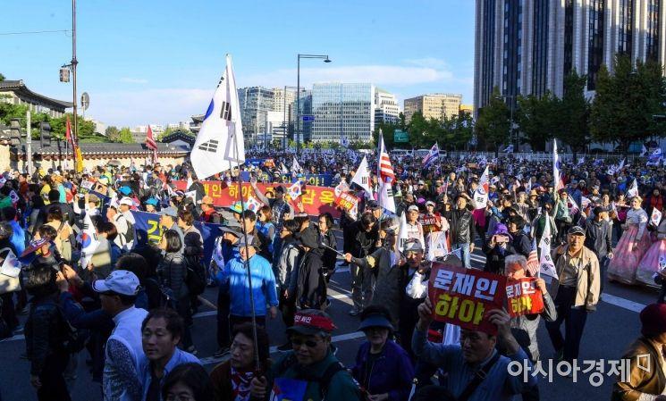 [포토]문재인 정권 규탄 행진