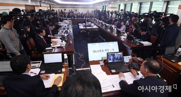 [포토] 2019년도 국회 교육위 서울대 국정감사
