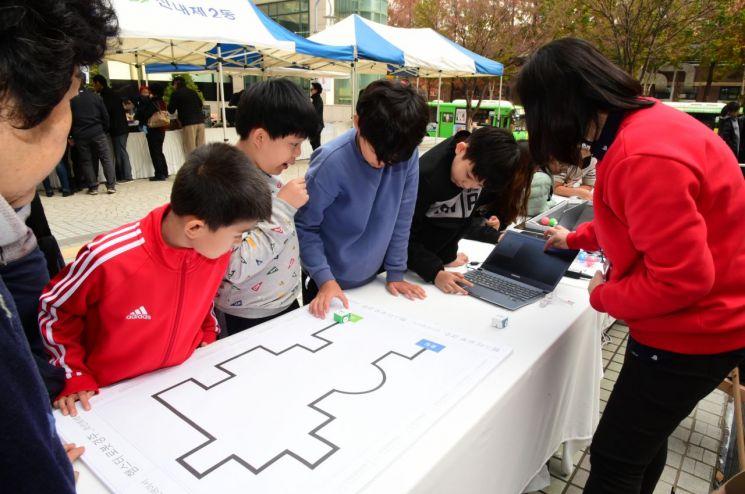 중랑구, IT 체험행사 및 정보화교육생 작품전시회 개최