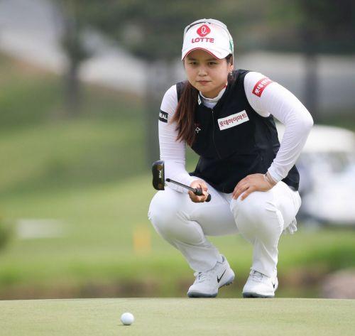 최혜진이 KB금융스타챔피언십에서 '5승 사냥'에 나섰다.