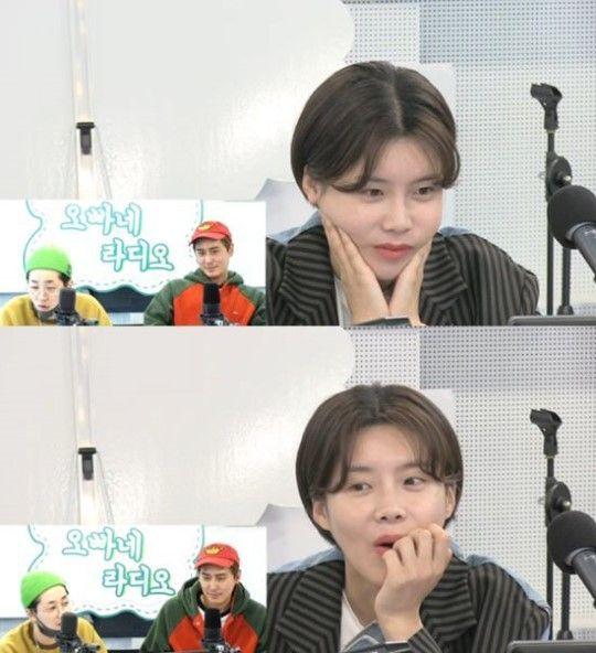 개그우먼 장도연이 데뷔를 결심한 계기를 밝혔다/사진=SBS러브FM '김상혁·딘딘의 오빠네 라디오' 화면 캡처