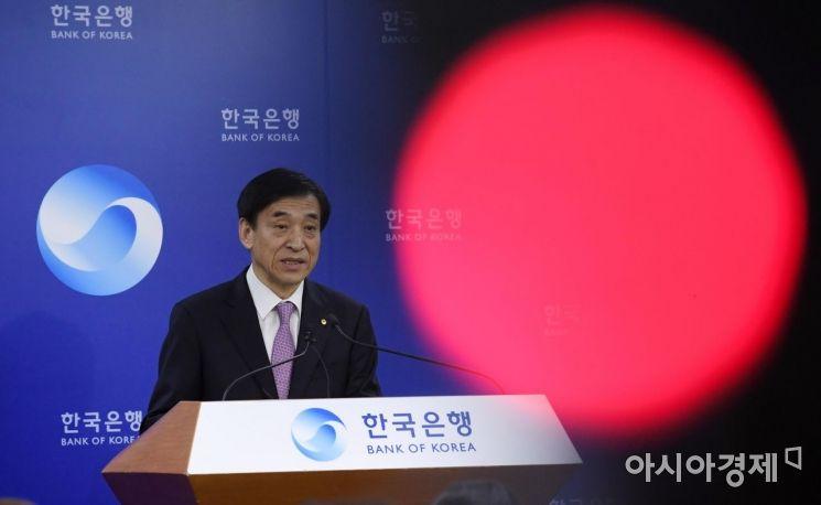 [포토] 이주열 총재, 통화정책 관련 기자간담회