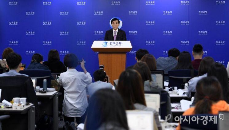 [포토] 이주열 한국은행 총재, 기자간담회