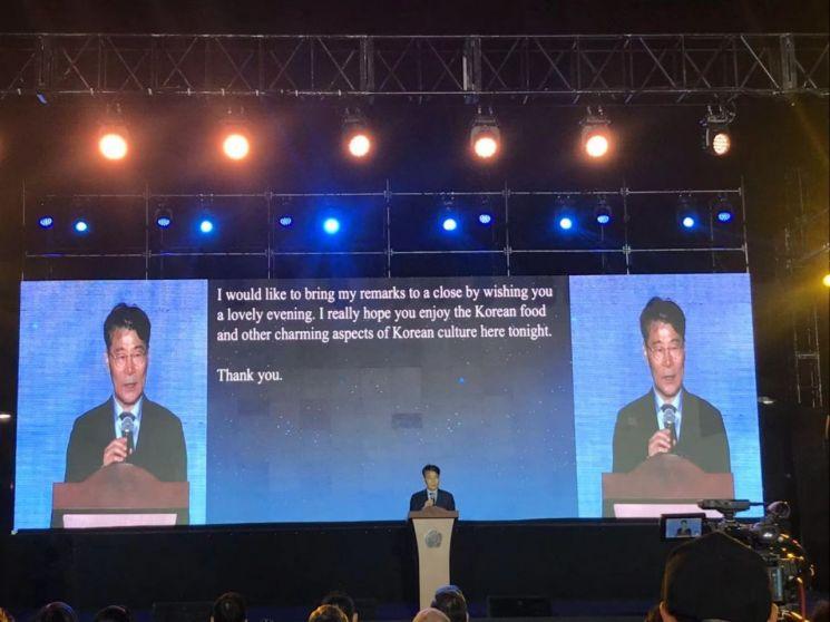 주중 한국대사관 행사에 중국 차관급 참석…한중 우호 강조