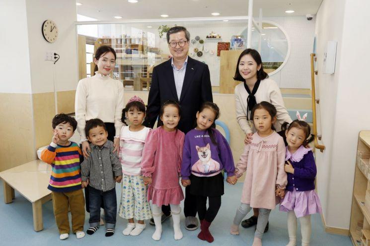 포스코에너지, 직장 어린이집 확장·이전 개원식 개최