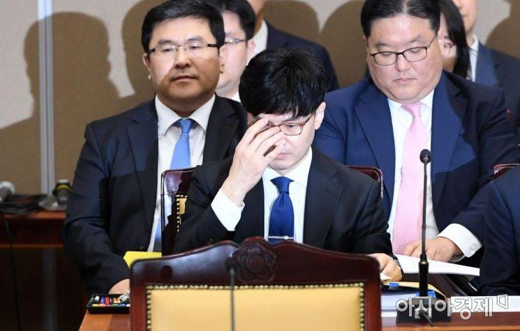 [포토] 대검찰청 국감 출석 한동훈