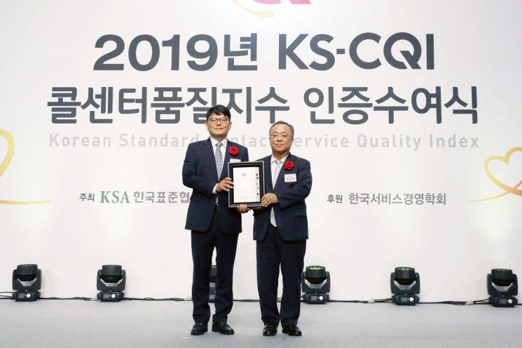 K쇼핑, 4년 연속 '콜센터품질지수' 1위