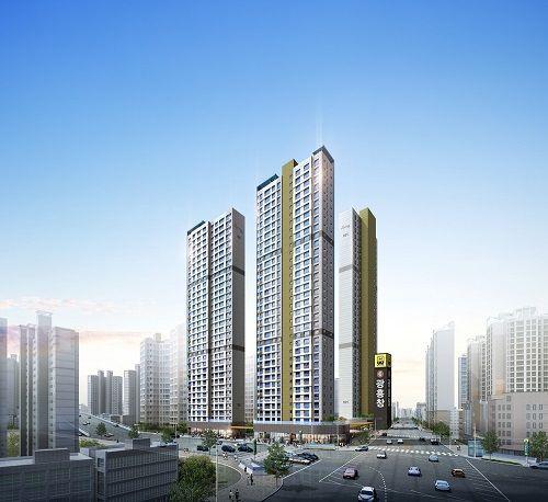 단지와 역이 이어져있는 초역세권 아파트 '광흥창역대원칸타빌' 관심집중