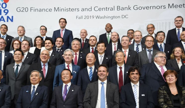 """G20 """"무역 갈등이 세계 경제회복 저해…국가간 정책공조 필요"""""""