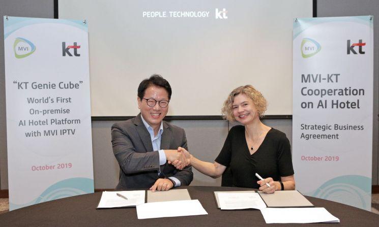 KT '기가지니', 필리핀 시작으로 아시아·중동 호텔 진출