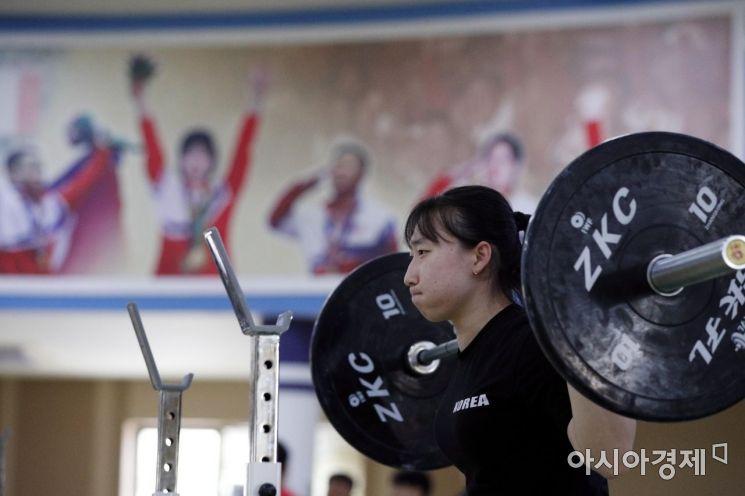 [포토]구슬땀 흘리는 박선영 선수