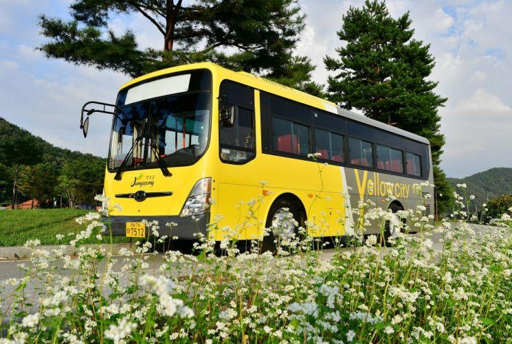 장성군, 농촌버스 외관 10년 만에 디자인 '교체'