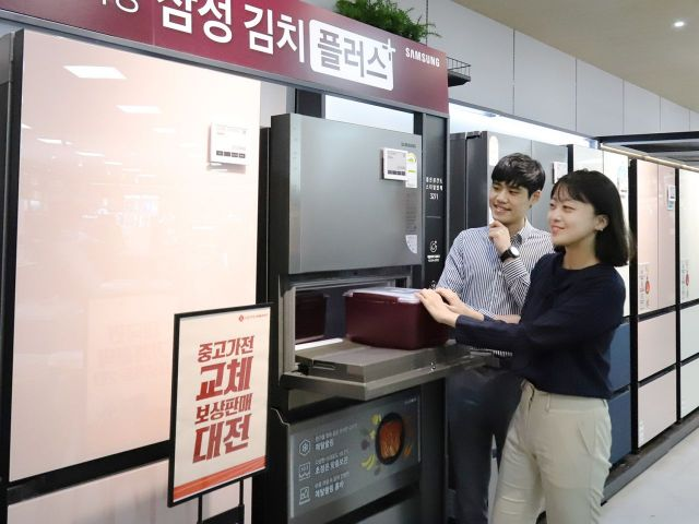 와인·육류보관도 거뜬…김치냉장고도 '대용량'이 대세