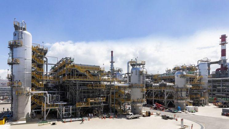 ▲현대오일뱅크 대산공장에 위치한 VLSFO 생산시설 전경