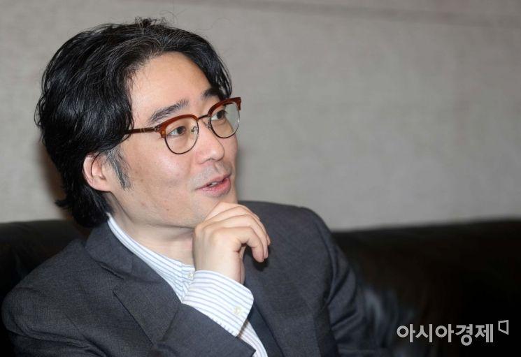 임종윤 한미사이언스 대표·한국바이오협회 이사장이 아시아경제와 인터뷰하고 있다. /문호남 기자 munonam@