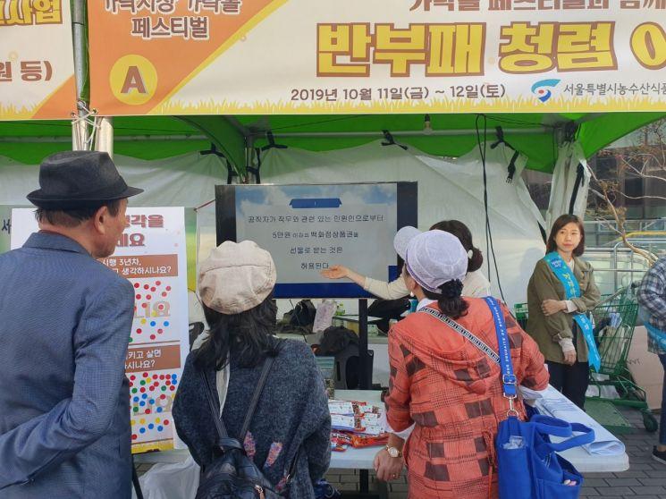 서울시농수산식품공사, 가락몰 청렴문화 선도