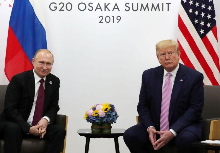 푸틴 러시아 대통령과 도널드 트럼프 미국 대통령 (사진=연합뉴스)