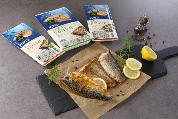 CJ 수산 간편식 '비비고 생선요리', 출시 100일만에 100만개 팔렸다