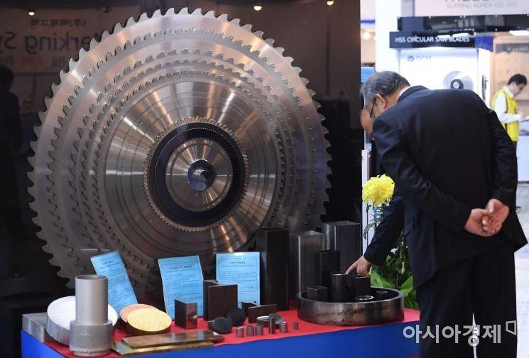 [포토] 2019 한국산업대전 및 한국기계전