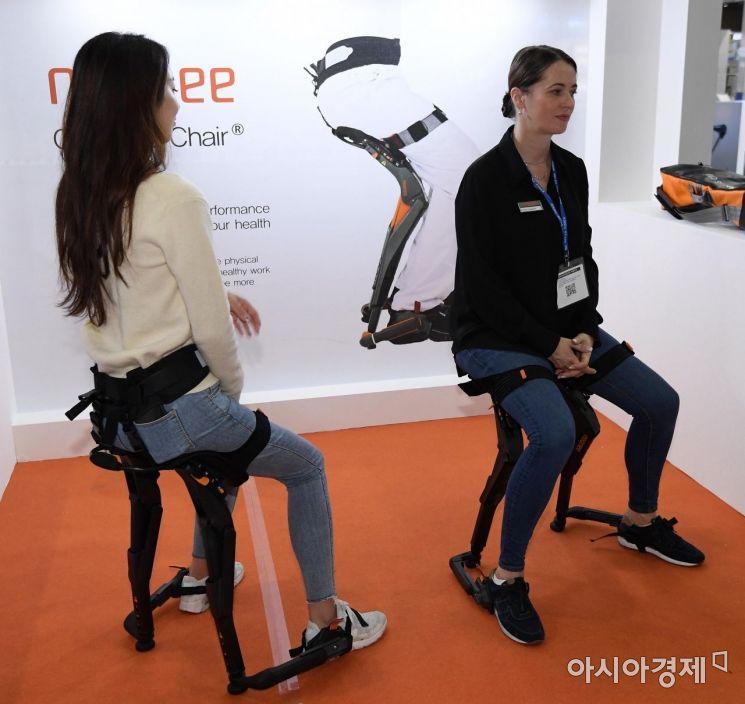 [포토] '의자가 필요 없어요'