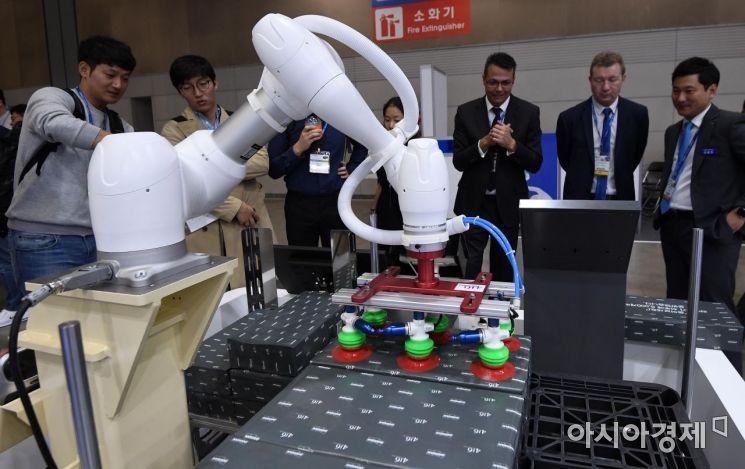 [포토] 물류 적재 로봇