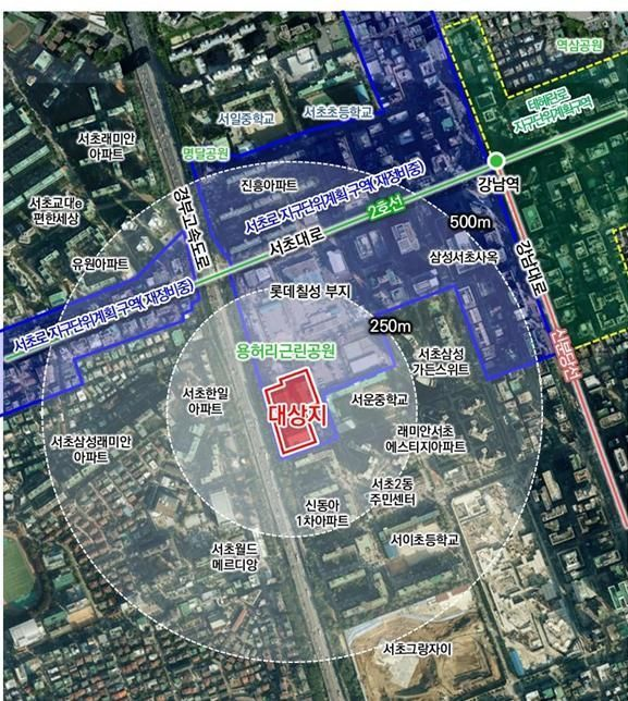 서초동 코오롱 스포렉스 부지 개발 '시동'