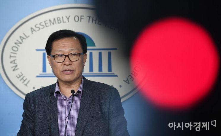 [포토] 문병호 탈당, '손학규 체제와 결별'